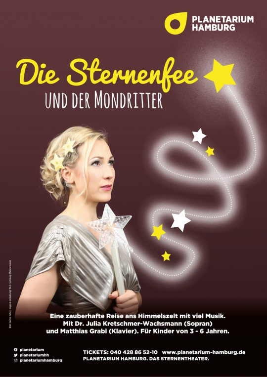 Sternenfee Astrella, Mondritter, Carlos Kella, Planetarium Hamburg