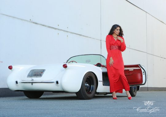 Corvette C1, Pin up, Carlos Kella, Sway Books