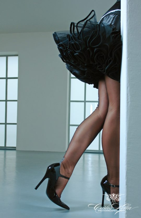 Nylons and High Heels by Carlos Kella
