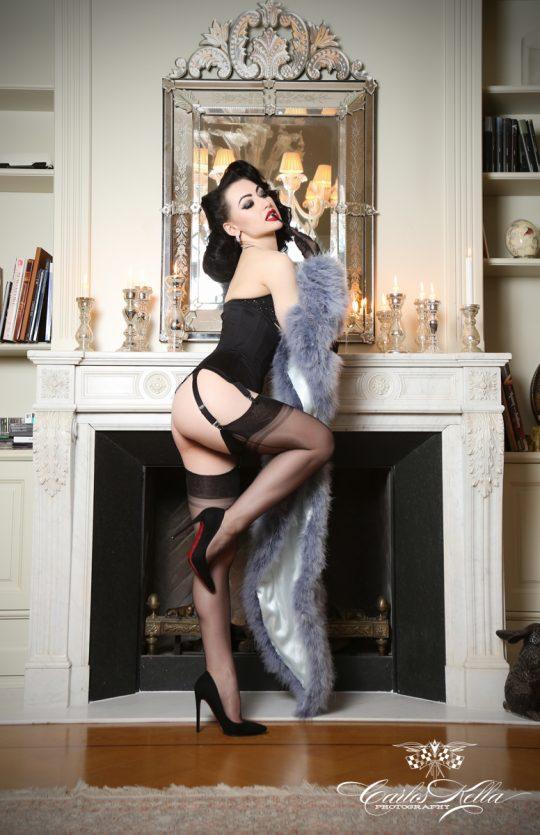 Katrin Gajndr Russian Queen of Burlesque, Carlos Kella, SWAY Books