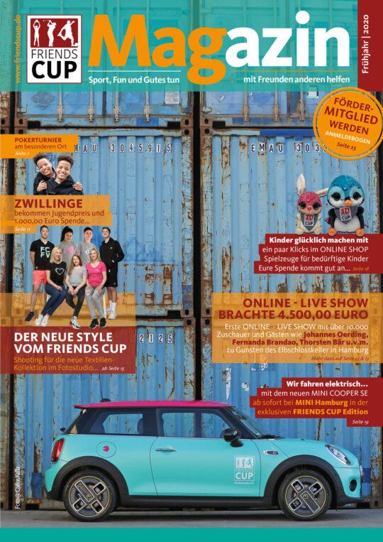 Friendscup, Magazin, Cover, Carlos Kella, Sven Flohr, Sway Books