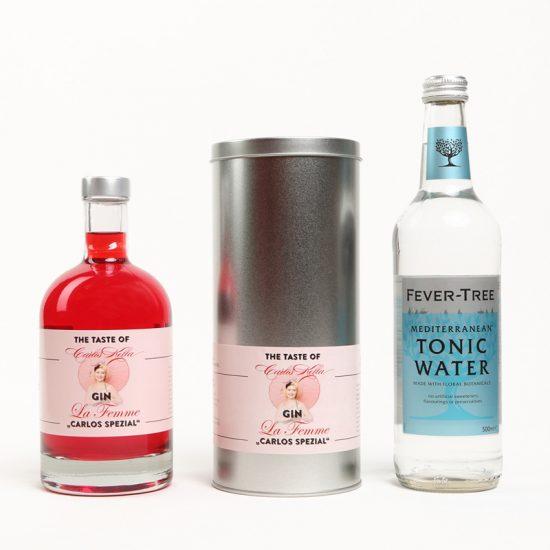 "Gin La Femme ""Carlos Spezial"" Tonic-Set"