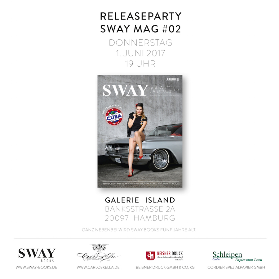 SWAY MAG #02 Magazin-Releaseparty
