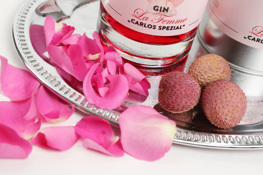 Gin la Femme – A classy dry gin with a touch of rose and lychee.