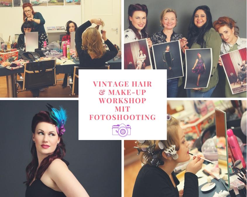 Vintage Hair & Makel-up Workshop in Hamburg
