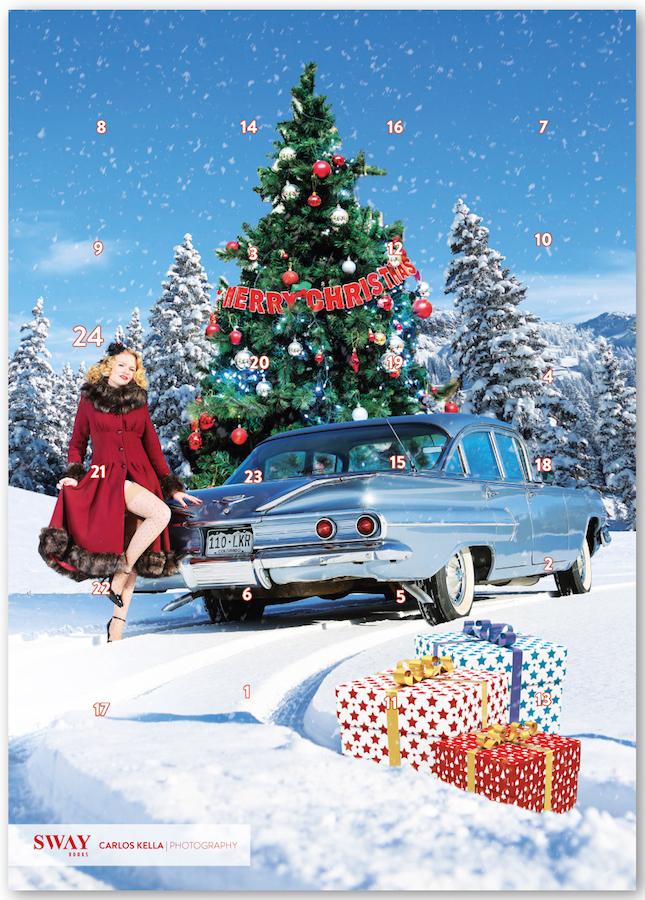 Schokoladen-Adventskalender, Carlos Kella, Lady bella Bionda, Chevrolet Bel Air