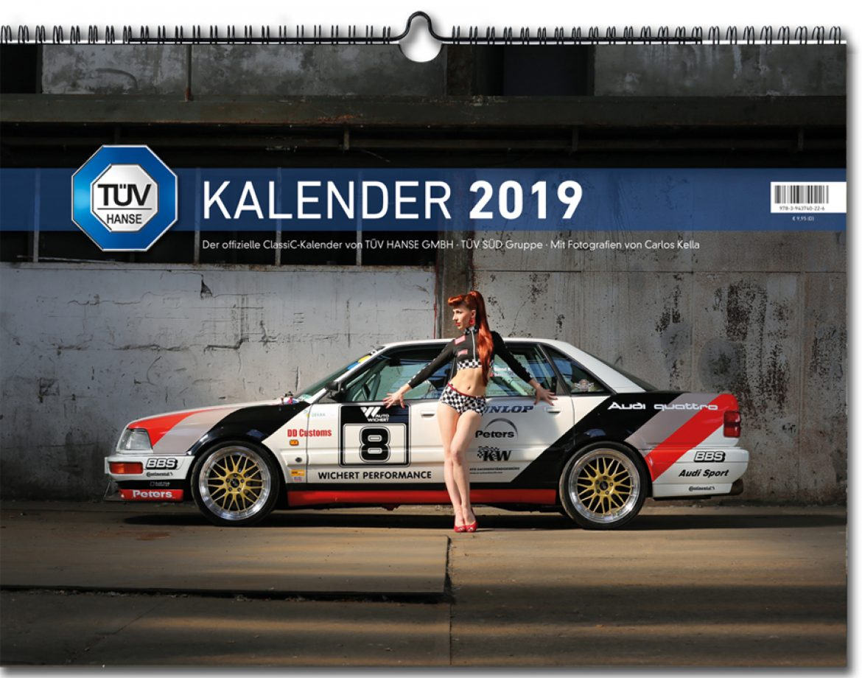Tüv Hanse, ClassiC kalender 2019, Carlos Kella, TÜV Hanse Gmbh
