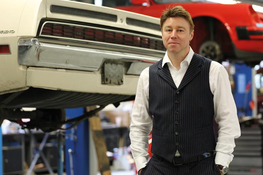 Dr. Florian Reiter, Geschäftsführer der westside.cars GmbH & Co. KG / Foto: Carlos Kella
