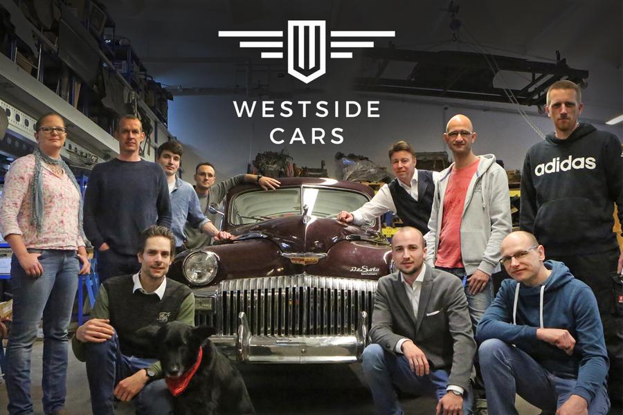 Das Team der Firma westside.cars GmbH & Co. KG / Foto: Carlos Kella