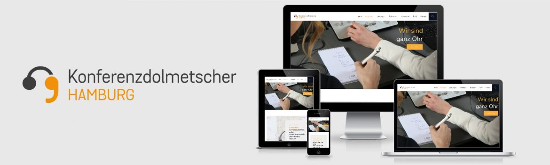 Fotoshooting mit Carlos Kella für den Relaunch der Konferenzdolmetscher Hamburg Website