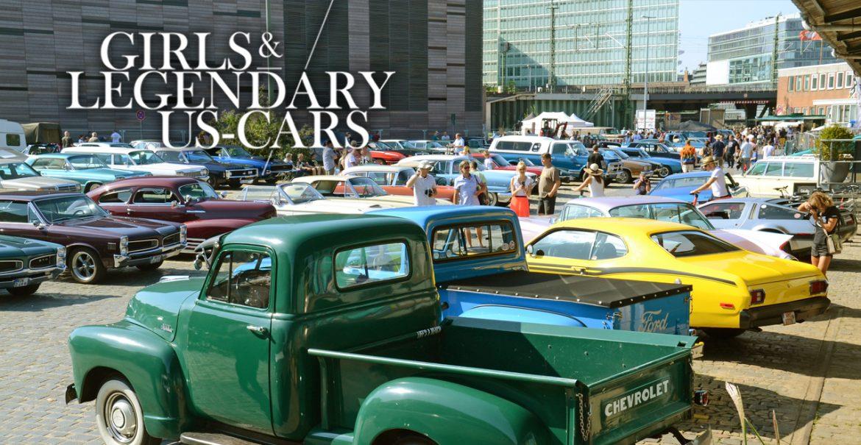 SAVE THE DATE: Girls & legendary US-Cars 2021 Kalender-Relaseparty am Samstag, den 15.08.2020 ab 14:00 Uhr bis Open End