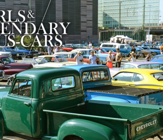 SAVE THE DATE: Girls & legendary US-Cars 2021 Kalender-Relaseparty am Samstag, den 15.08.2020 ab 14:00 Uhr bis Open End