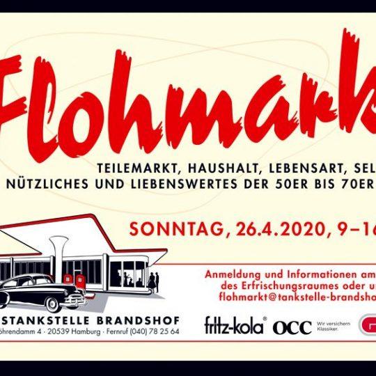 SWAY Books & Carlos Kella on Tour beim Flohmarkt im Frühjahr an der Oldtimertankstelle Brandshof am Sonntag, den 26.04.2020.