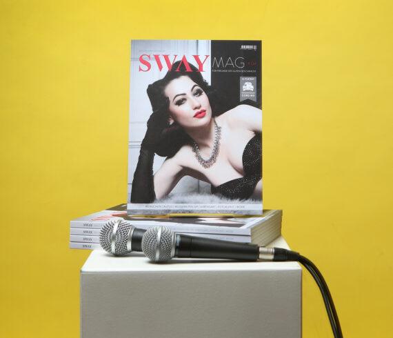 SWAY MAG #4 Release live aus dem SWAY Books Studio am Freitag, den 26.06.2020 um 20:00 Uhr live auf Instagram und Facebook!