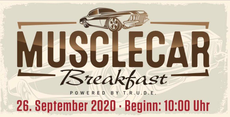 Am Samstag, 26. September 2020 findet ab 10.00 Uhr wieder das legendäre, jährliche Musclecar Breakfast der TRUDE HAMBURG statt.