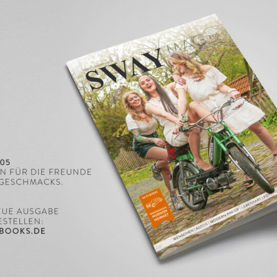 Das SWAY MAG #05 aus dem SWAY Book Verlag erscheint Ende Juli 2021 und ist jetzt vorbestellbar! Titelstory: Freiheit mit 25 von Helge Thomsen