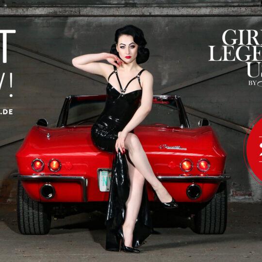 OUT NOW! Der Girls & legendary US-Cars 2022 Wochenkalender ist jetzt lieferbar.